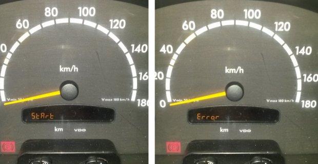 START ERROR Mercedes Sprinter