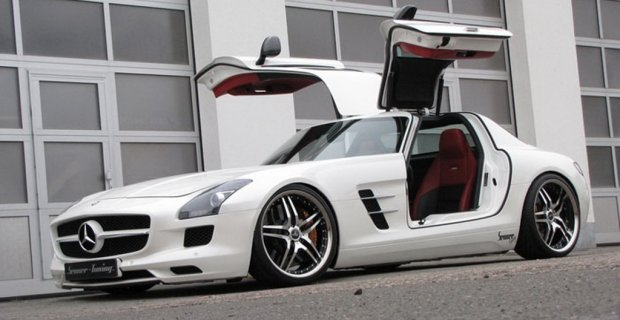 Фото тюнінгу Mercedes SLS AMG